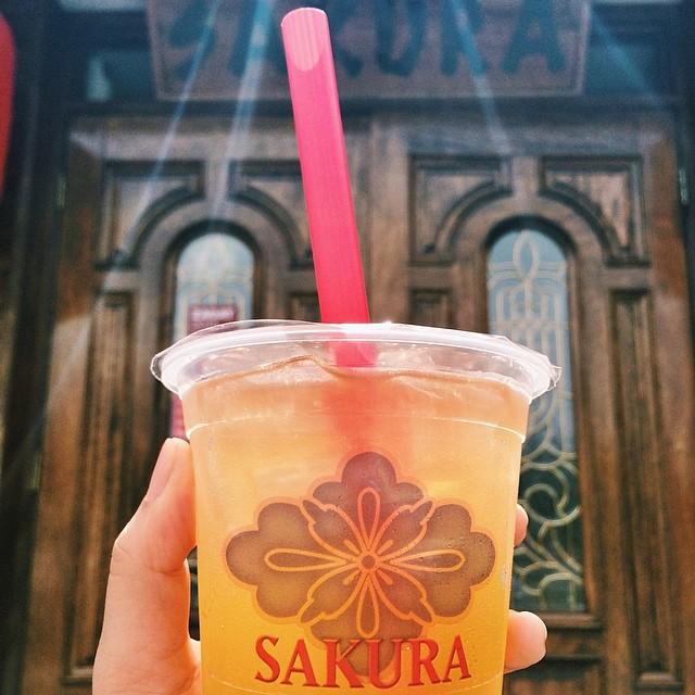 Cool down with our Boba Tea on this warm day!  #sakurahibachinj #sakura #hibachi #sushi #bobatea #takeout #togo #parsippany #morriscounty #northjersey #nj
