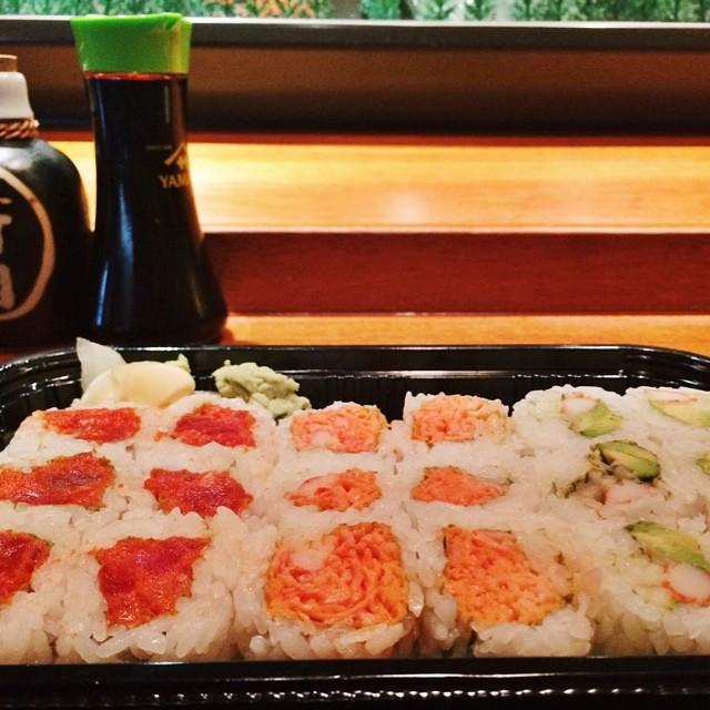 Can't have seaweed? We have soy paper!  #sakurahibachinj #sakura #hibachi #sushi #soypaper #bobatea #parsippany #morriscounty #northjersey #nj