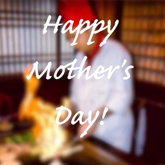 Happy Mother's Day! Call to make reservations! #happymothersday #mom #sakura #hibachi #sushi #sakurahibachinj #bobatea #sunday #parsippany #morriscounty #northjersey #nj