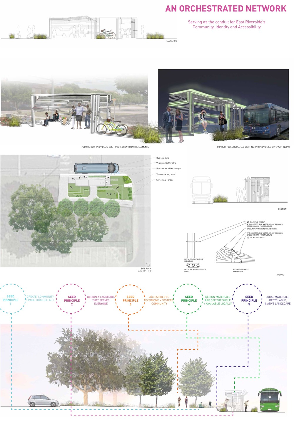 Westshop + Yancy Studio teamed up for the AIA and Capital Metro bus shelter competition in September.  A big thank you to the jurors and the fellow design teams.  It was a great way to spend a Saturday.