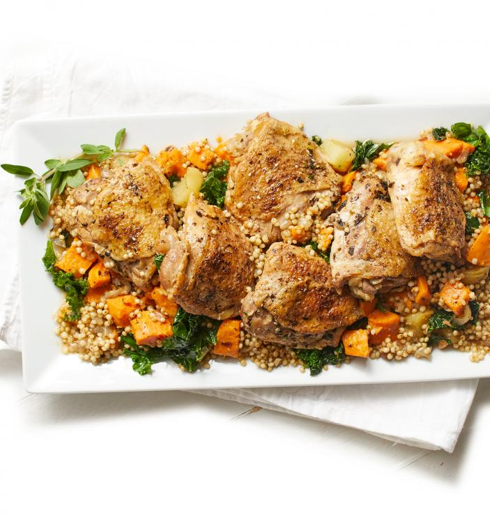 Za'atar Chicken Thighs with Sweet Potatoes, Kale, and Sorghum.jpg