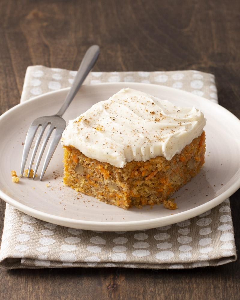 Spiced Sweetpotato Snack Cake
