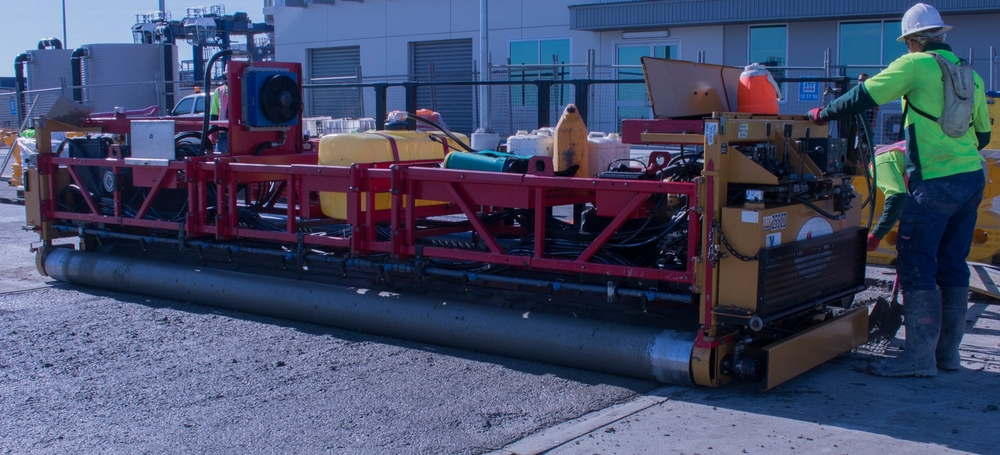"Baulderstone chose QR Contracting as its delivery partner for the concrete pavement works.  Throughout the project our team worked closely with Baulderstone to deliver pavements to a standard commensurate with MRT Specifications and we are proud to say that it is some of the best work that we have achieved.    Baulderstone representative -     ""The concrete pavements are designed for 120 ton wheel loads.  Needless to say, quality, best practice and attention to detail were extremely important.    QR Contracting's commitment to planning, coordination and communication went a long way to ensuring that the project was delivered as required and that all objectives were either met or exceeded."""