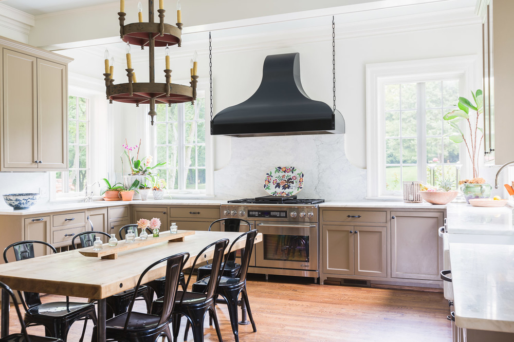 A dream kitchen garden feature on style blue print for The style kitchen nashville