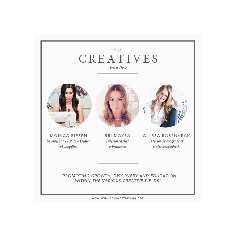 Alyssa Rosenheck with Jennifer Sweet Creative Series Blog