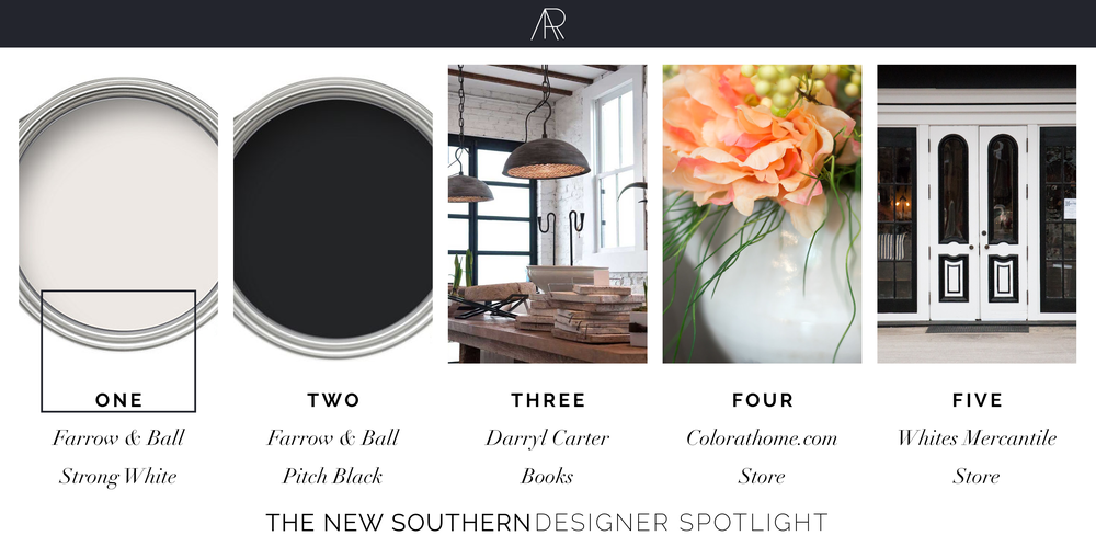Alyssa Rosenheck's The New Southern Designer Spotlight | Jason Arnold,  Farrow and Ball, Darryl Carter, Color, and Whites Mercantile