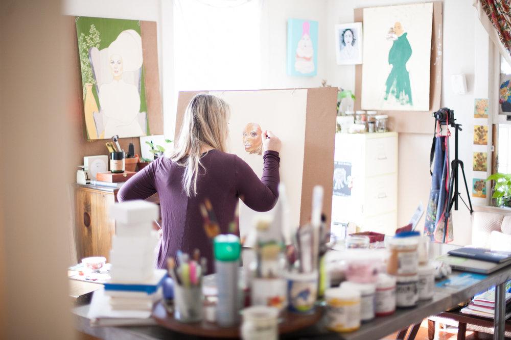 Chambers Austelle Studio.Photo: ©Leslie Ryann Mckellar
