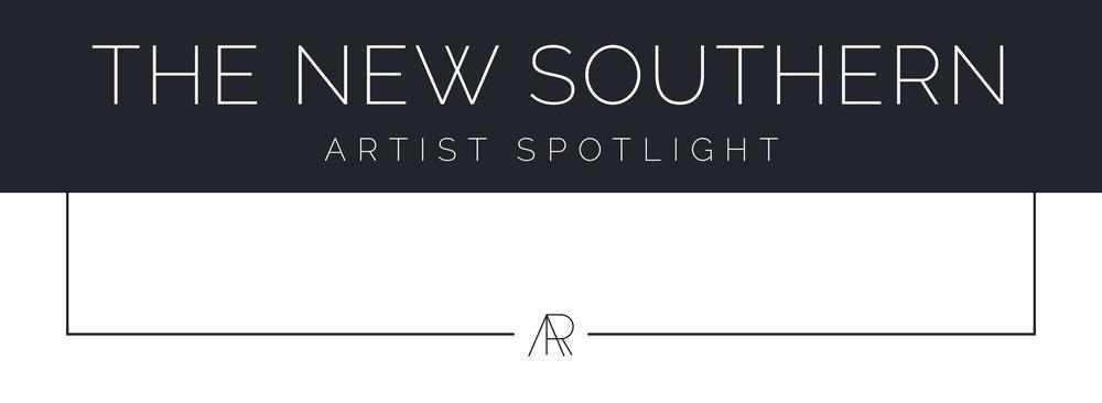 Alyssa Rosenheck's The New Southern Artist Spotlight with Erin Clark, Artist + Painter of Hamilton, MA, Gregg Irby Gallery, Atlanta, GA