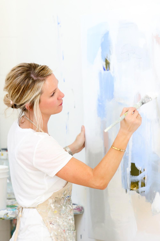 Alyssa Rosenheck's The New Southern Artist Spotlight with Renée Bouchon, Artist + Painter of Atlanta, GA