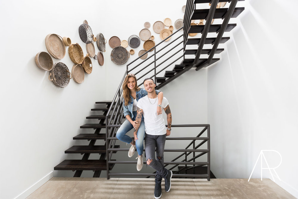 Alyssa Rosenheck Photographs Victoria Secret Model Josephine Skriver and Alexander Deleon with Architectural Digest ©AlyssaRosenheck The New Southern Nashville