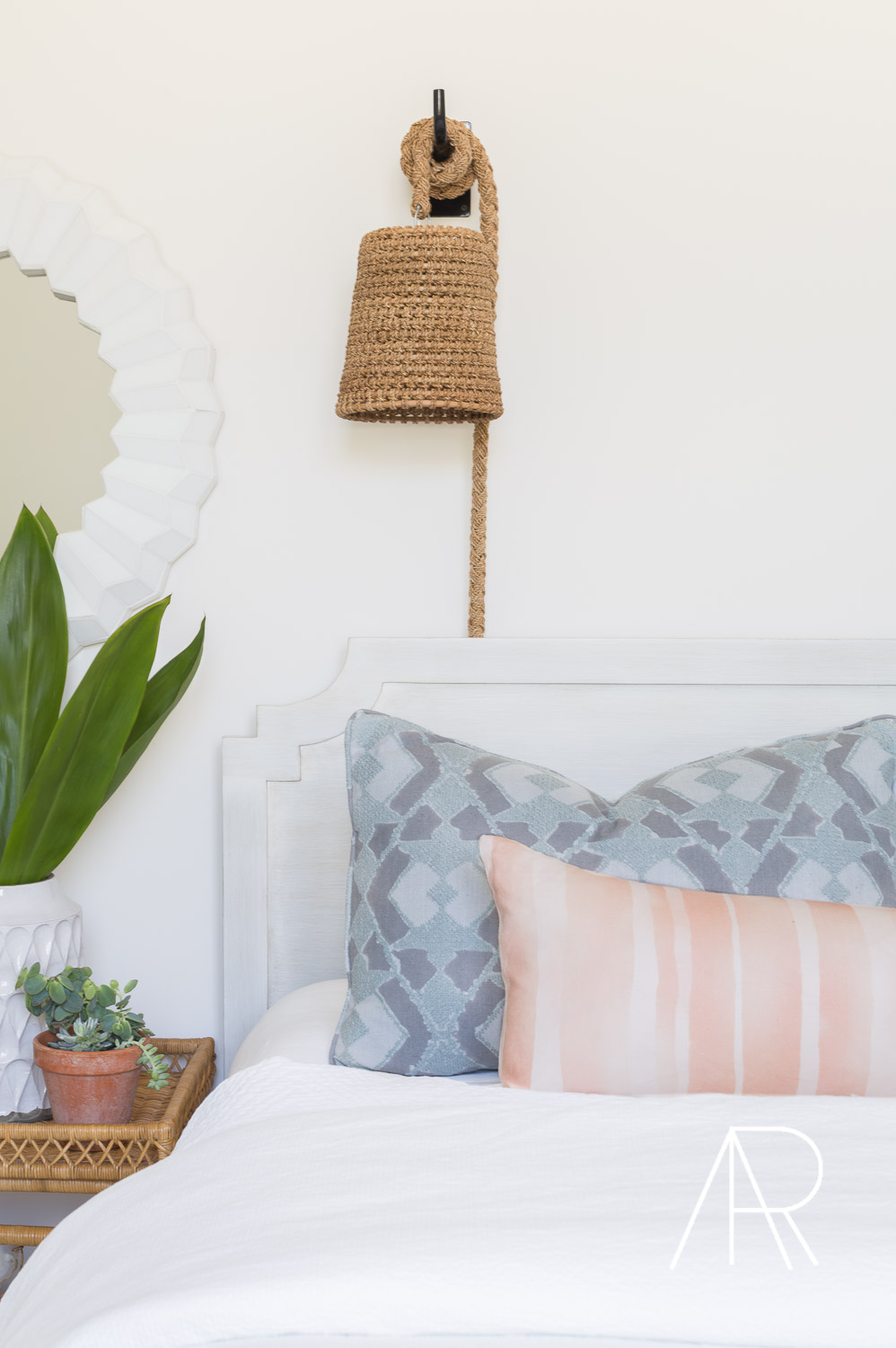 ©AlyssaRosenheck Scottsdale AZ Boho Bedroom Nook with Mydomaine and Bria Hammel Interiors