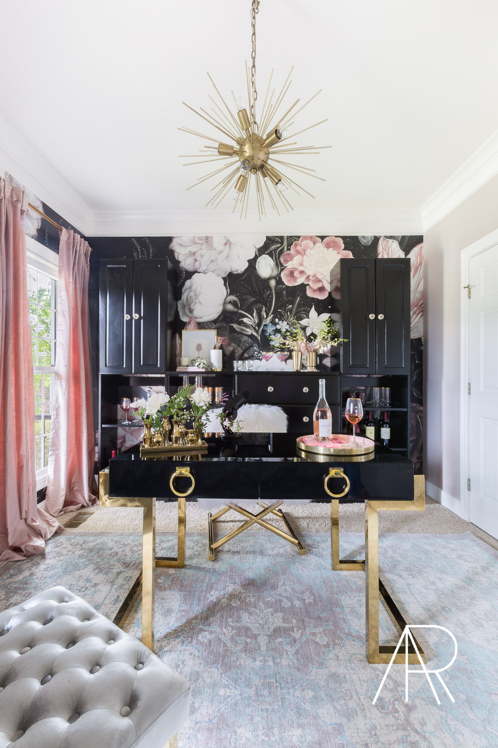 US WEEKLY Exclusive with Kaitlyn Bristowe podcast room with Decorist and Alyssa Rosenheck ©AlyssaRosenheck