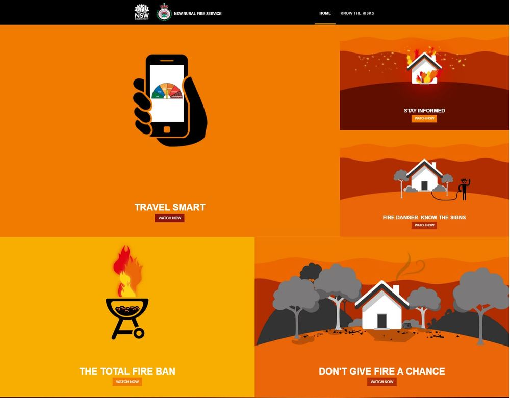 My Fire Plan Website