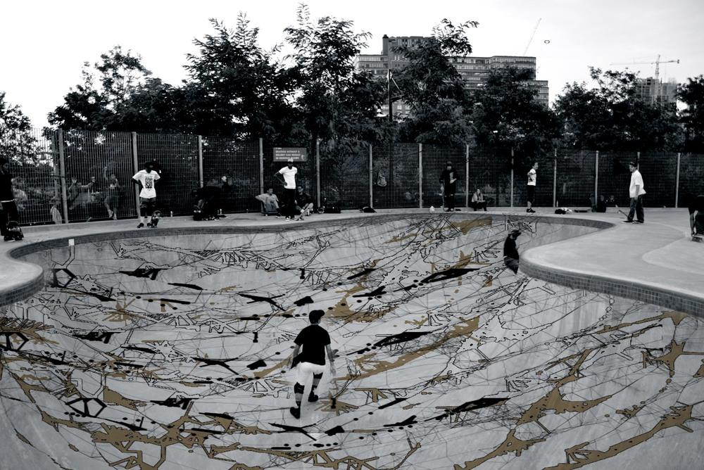photomontage of concept idea