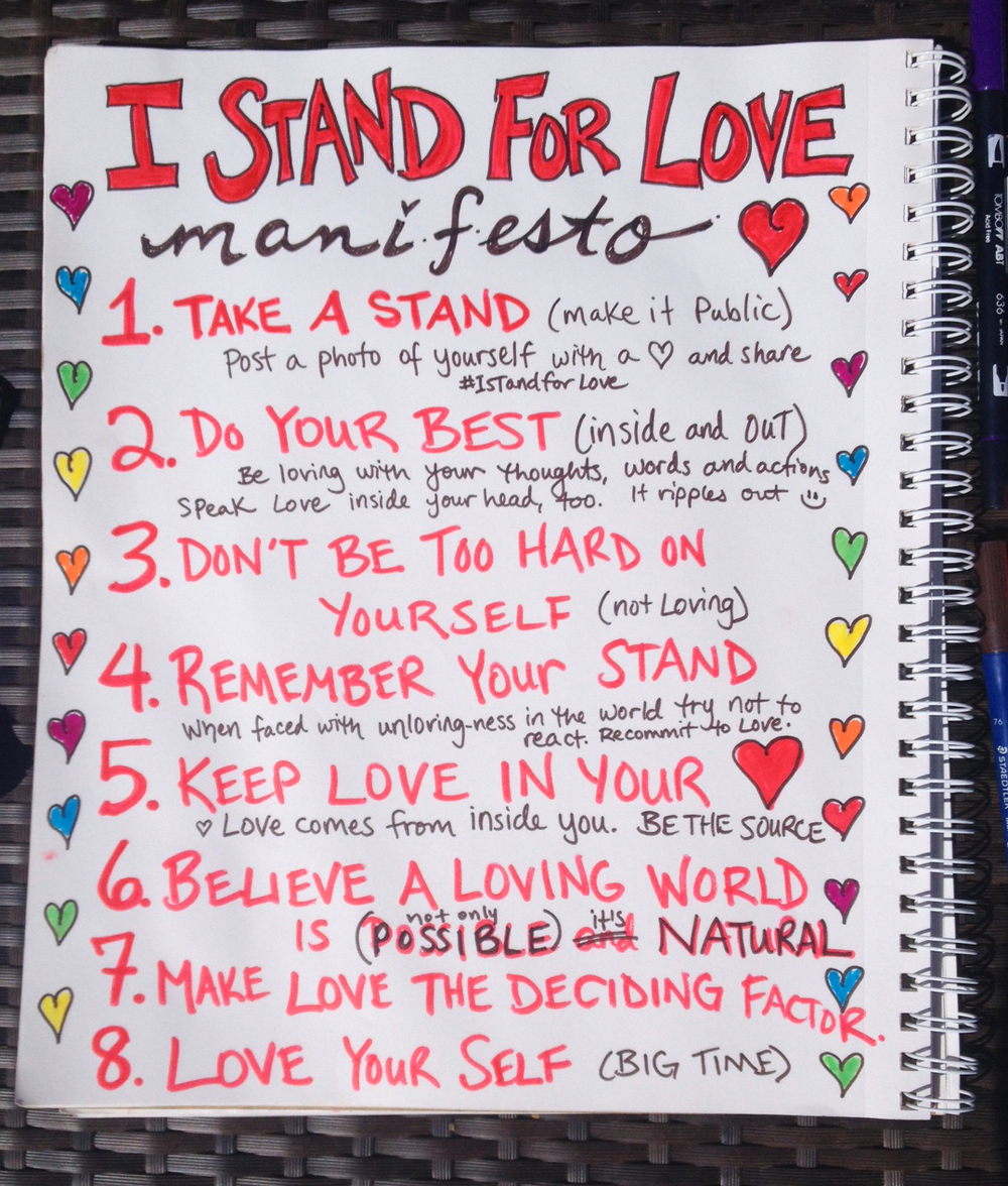 8 simple steps to create a more loving world!