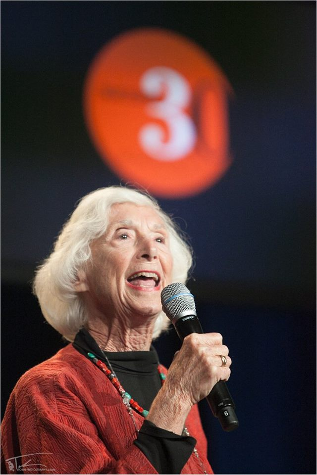 Barbara Marx Hubbard at Success 3.0 Summit