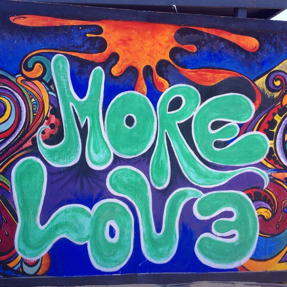 More love art at Jtree ~ Sarah Love
