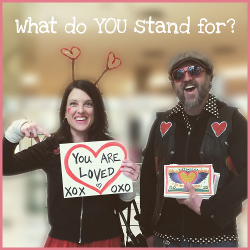 I stand for love day