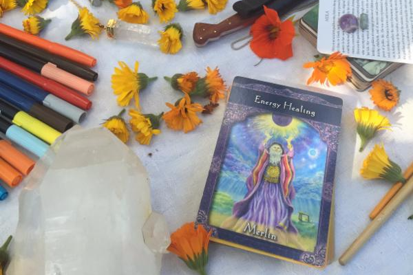 The Merlin (Energy Healing) card from Doreen Virtue's Ascended Masters deck