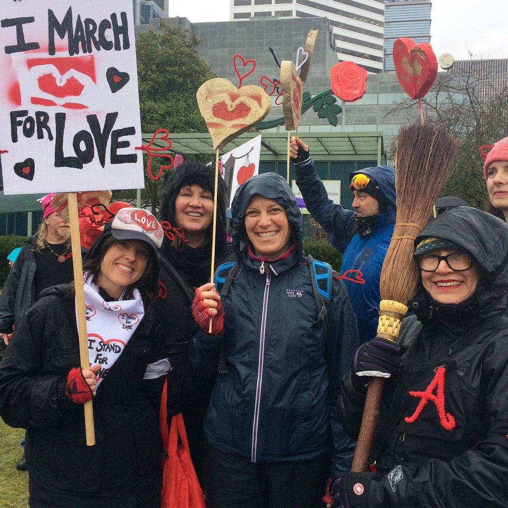 Womens march Portland Sarah Love