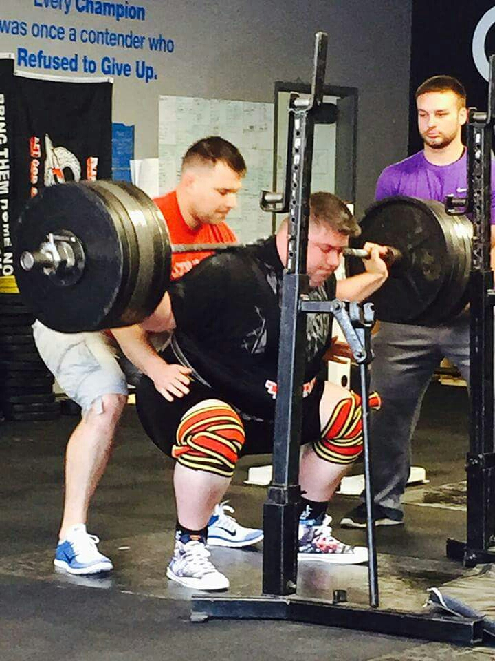 just a really cool dude squatting 600 lbs and such.
