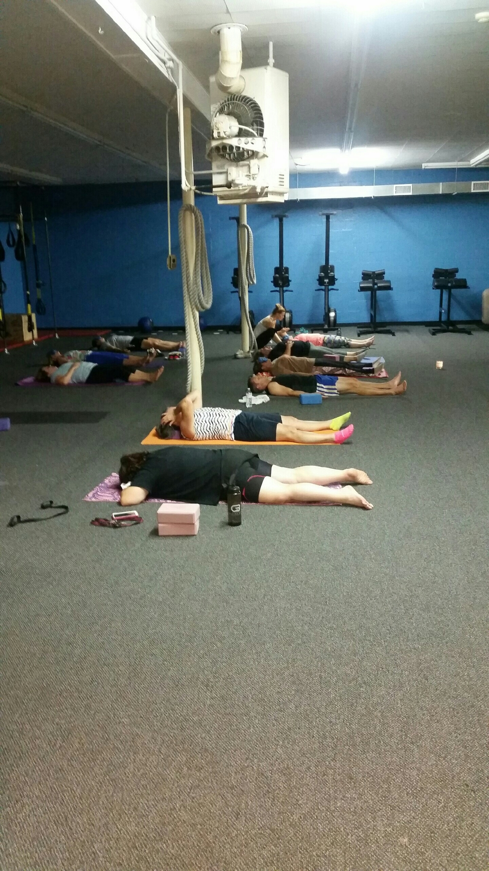 we had 10 people at our Yoga intro class.