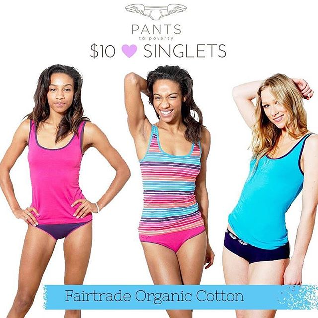 Only $10 REDUCED FROM $35. These singlets are 95% organic cotton, 5% elastane fitted shape to keep you warm and extra comfy. The perfect singlet for lounging around or being active in! #organic #vegan #fairtrade #pantstopoverty #sale http://www.fairtradeshop.com.au/vest-womens-hot-stripe/