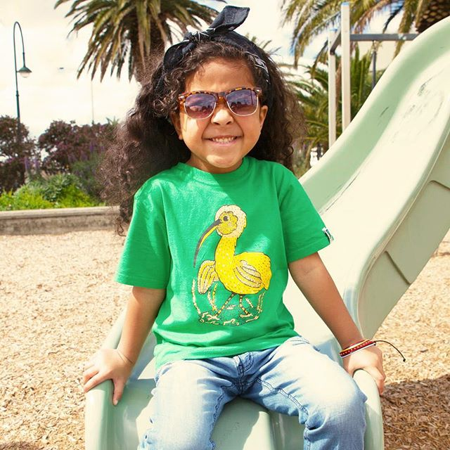 Have you ever seen a yellow Ibis? No...neither have we...but we thought it would look great on a tshirt! This tee is suitable for boys or girls and is made from certified fairtrade & organic cotton. Shop our kids range today!  http://www.fairtradeshop.com.au/kids-tshirts-ibis/  #etiko #fairtrade #vegan #sustainable #organiccotton
