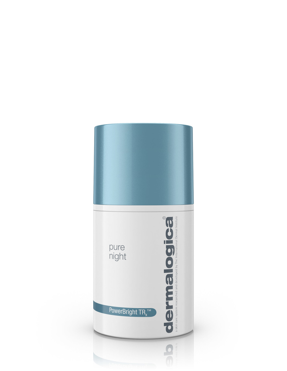 pure night  Restore skin luminosity and maximize PowerBright TRx™ results with this rich, nighttime moisturizer. It helps reduce the appearance of brown spots and uneven skin tone while you sleep with an active blend of skin-brightening agents. Oligopeptide, brightening Vitamin C, Niacinamide and Zinc Glycinate help control melanin (pigment) formation and hyperpigmentation, while Pumpkin enzyme smooths the skin. Cranberry and Raspberry Seed oils help restore critical barrier lipids, optimizing skin hydration and reducing the appearance of fine dehydration lines. White Bird of Paradise Seed Extract helps increase skin luminosity while collagen-stimulating Vitamin C and Moth Bean Seed Extract fight signs of aging. Formulated without artificial fragrances, colors or parabens.