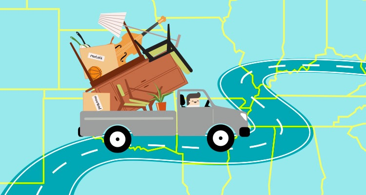 """Google image search for """"across country move""""."""