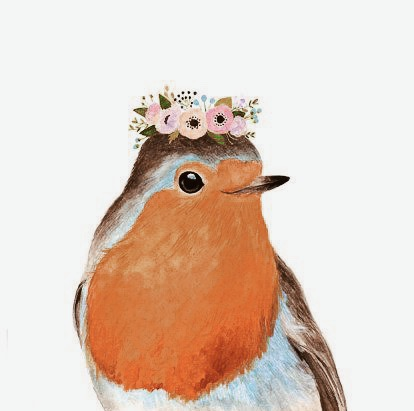 "There's a saying. ""When robins appear, angels are near."" We see them all the time."