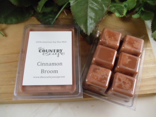 Cinnamon Broom Wax Melt — The Country Escape