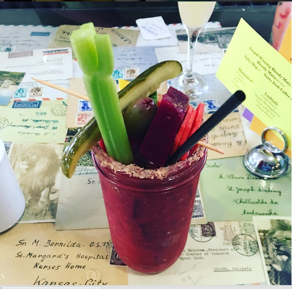 Our bloody is Best of Madison award-winning and chock full of fresh veggies. You might even call it a high-achieving healthy snack that totally counts towards your daily veggie intake for the day. We'll cheers to that.