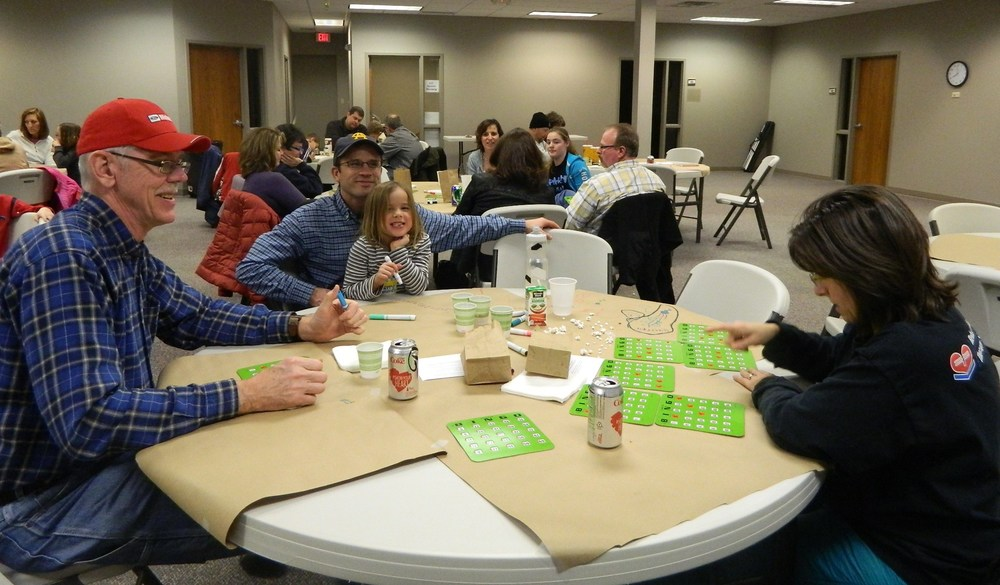 Family Bingo Night is a fun evening for every member of the family