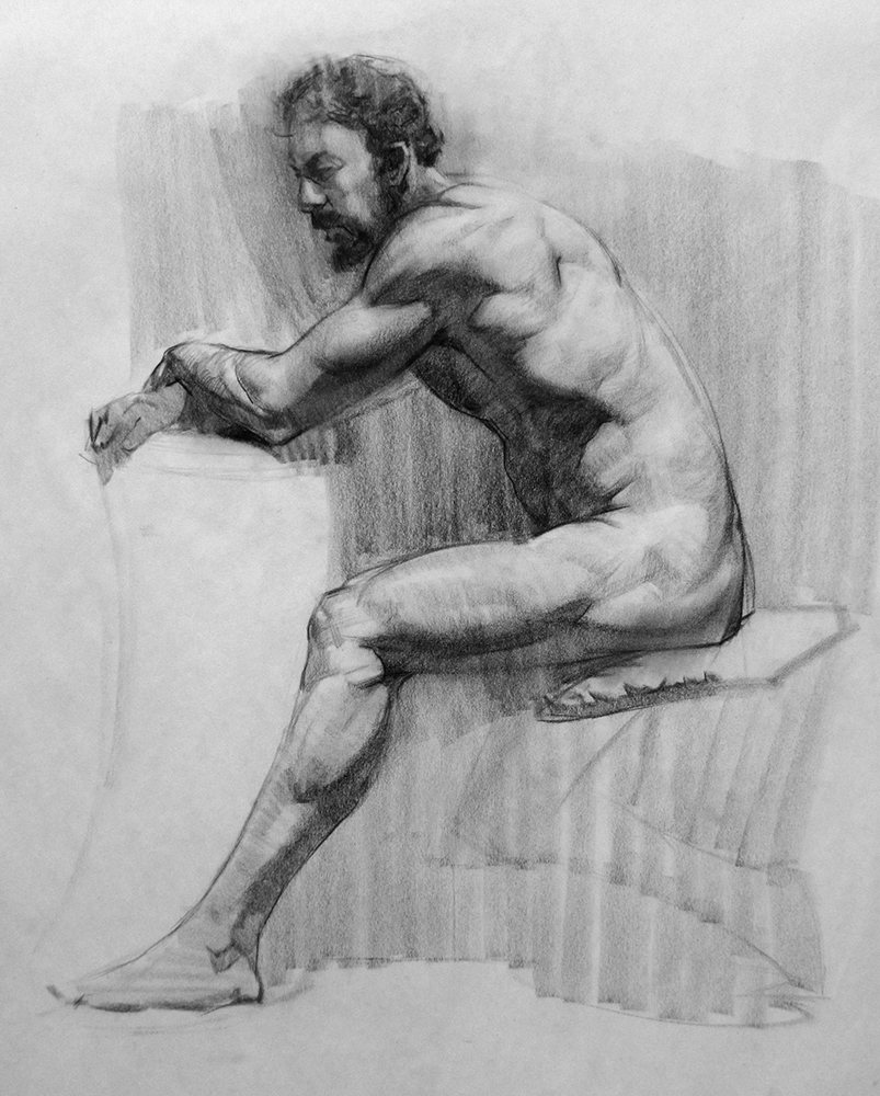Classroom figure drawing