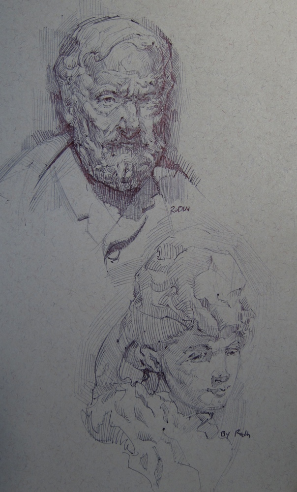 Rodin sculpture studies