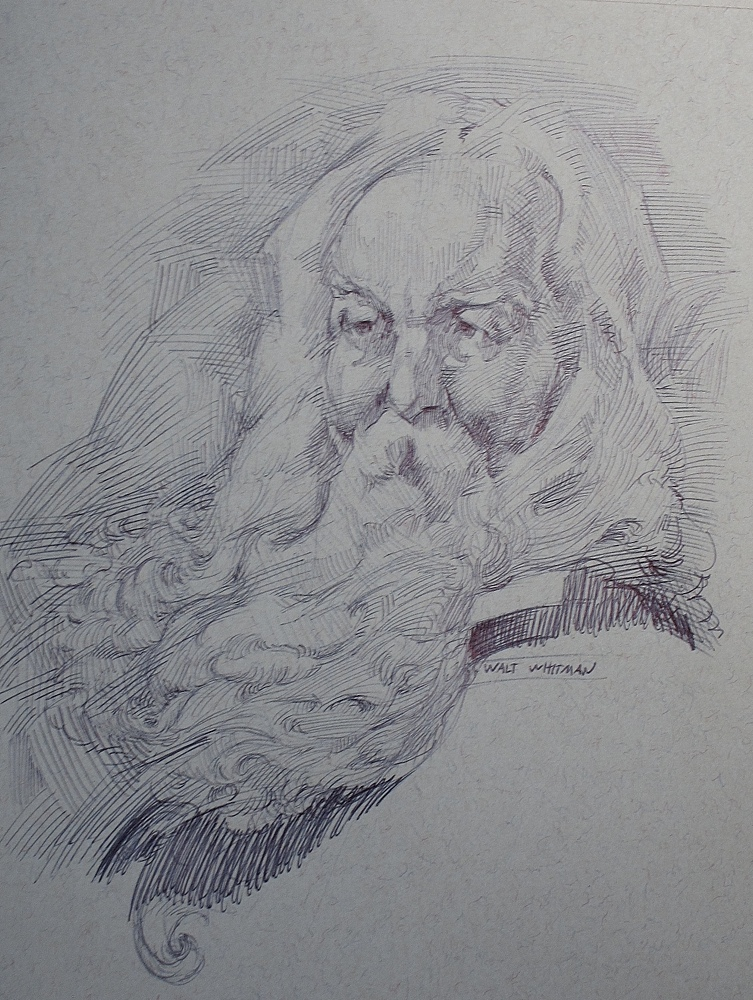 Walt Whitman after John White Alexander