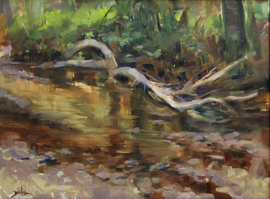 Rock Creek plein air