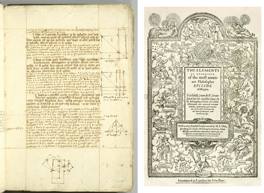 Euclid's Elements in a 14th century manuscript----.jpg