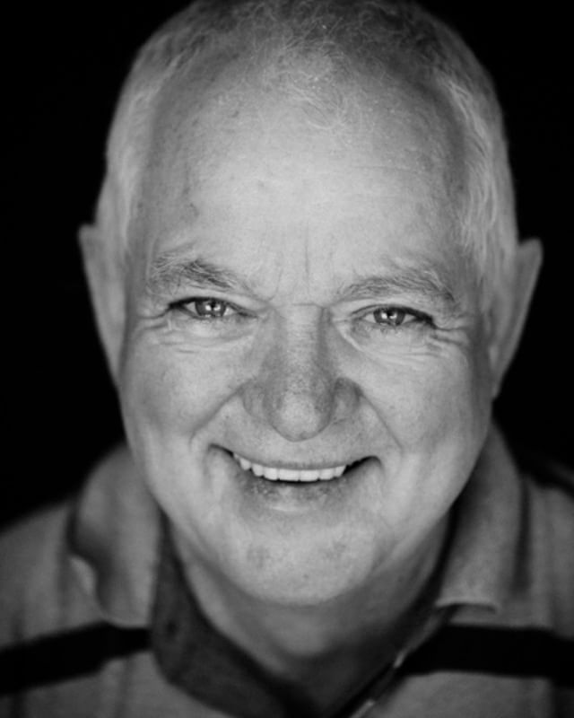 Kicking off the garage studio portrait series with non other than my Dad. When editing this and zooming in I can see the outline of myself taking the picture in the catchlight in his eyes. Literally a twinkle in his eye!