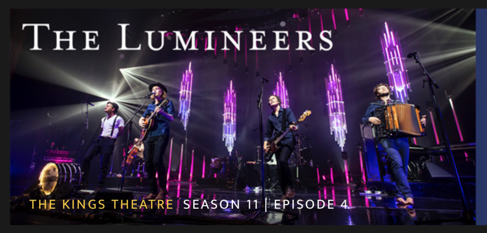 SRae Productions production design for the current Lumineers tour will make an appearance on Artist Den. Check local listings here.