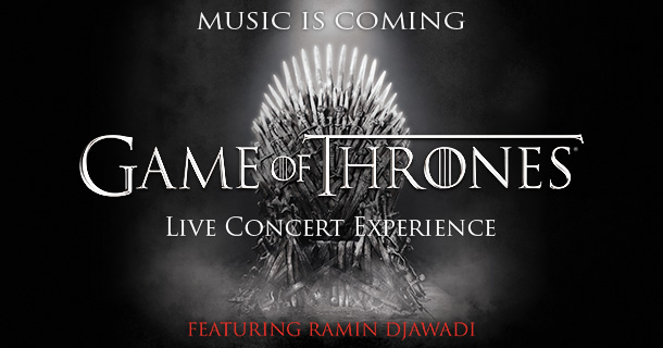 SRae Productions is directing and designing the Game of Thrones Live Concert Experience  featuring Ramin Djawadi in connection with HBO and Live Nation. The tour hits North America Winter 2017. Click  here  for dates.