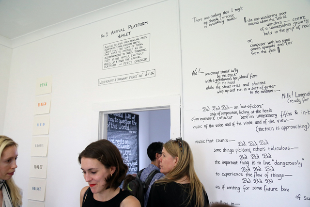 Opening of SNO 120 Non Objective Writing  at SNO Centre, Marrickville 2015