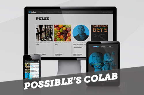 Possible's CoLab: Internal Social Network