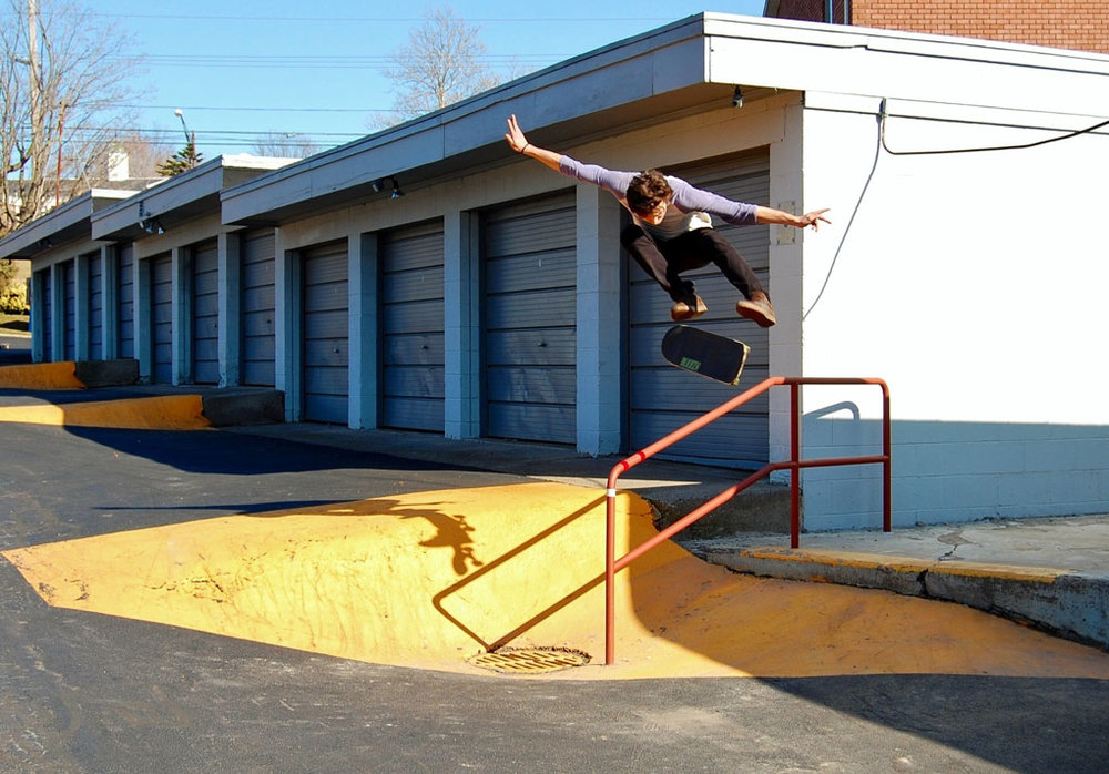 Kevin Bosch, Kickflip, Webster.   Photo: Casey Haley