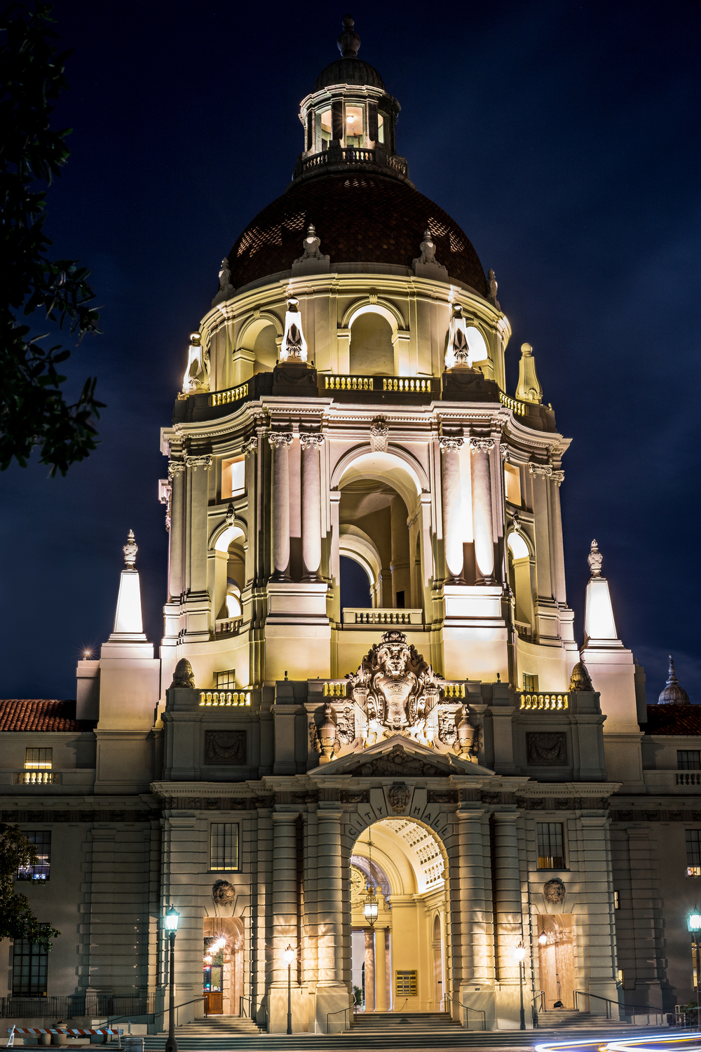 Pasadena City Hall - Night