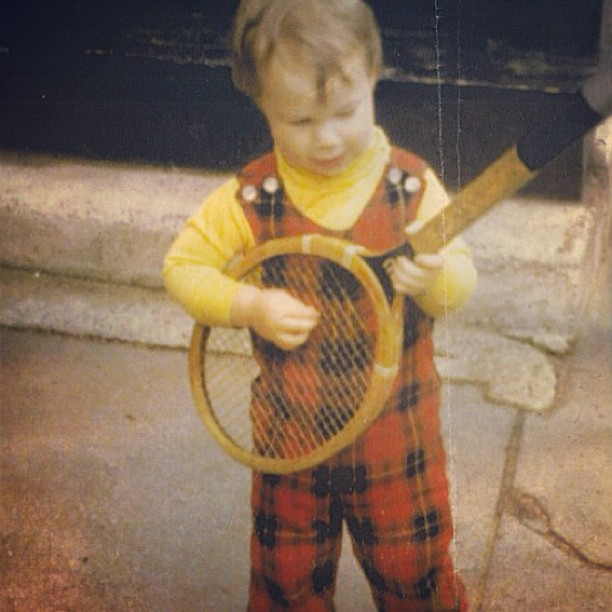 The drums were not my first instrument. #tbt