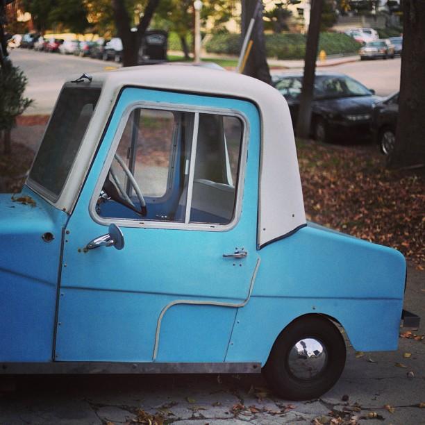 Smart car.