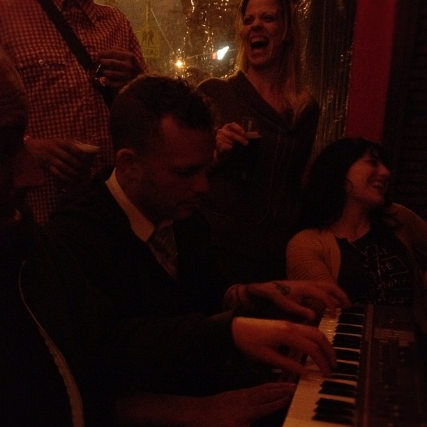 A RED LTR DAY with Jon Brown and Danny Tannenbaum. (Taken with Instagram at La Poubelle)