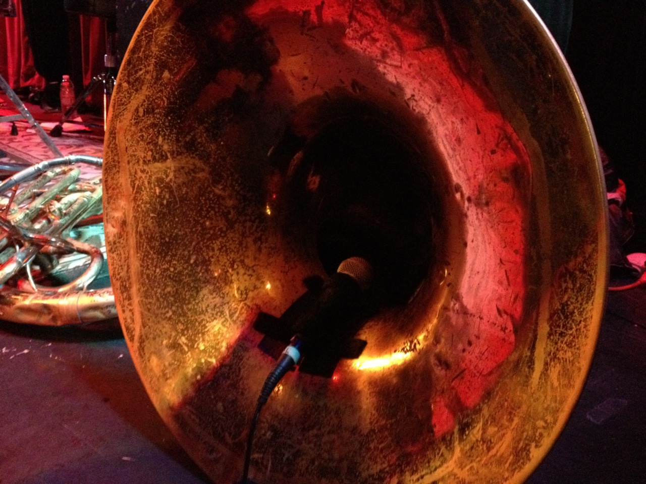 Motherfucking SOUSAPHONE.    Red Baraat     The Mint, Los Angeles